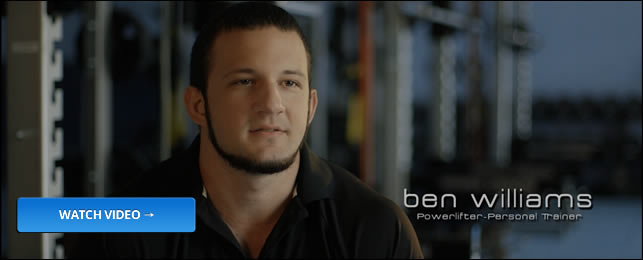 Personal Trainer - Ben Williams