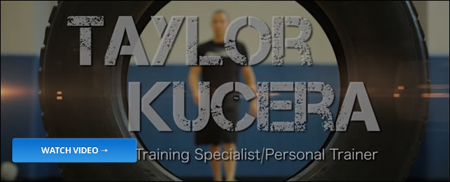 Personal Trainer - Taylor Kucera