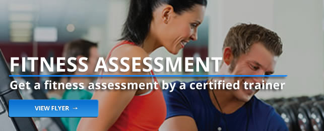 Get a fitness assessment by a certified trainer at the RecPlex