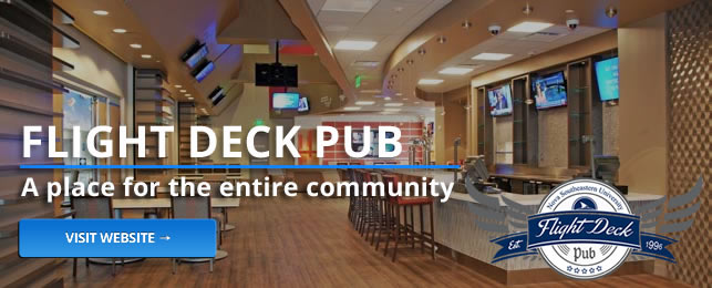 Flight Deck Pub, a place for the entire NSU community