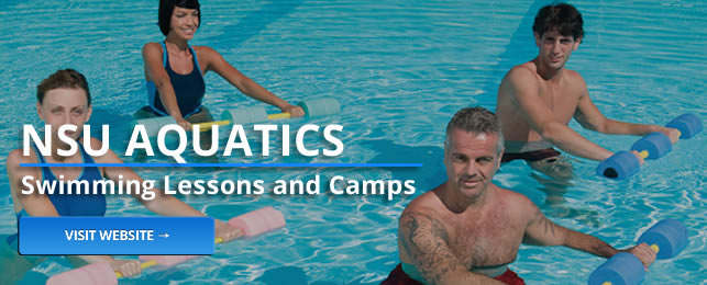 NSU Aquatics provides swimming lessons and camps