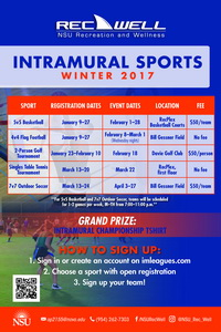 Intramural Sport Schedule