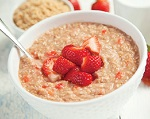 strawberry oatmeal